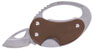 GRIZZLY GRIP TAPE KNIFE BROWN