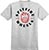 SPITFIRE BIGHEAD CLASSIC HEATHER GREY/RED POCKET SS M