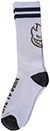 SPITFIRE HEADS UP WHITE/GREY  SOCKS