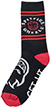 SPITFIRE CLASSIC BIGHEAD BLACK/RED/WHITE  SOCKS