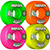 BONES 100S OG ASSORTED V1 53MM (Set of 4)