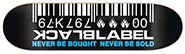 BLACK LABEL TEAM BARCODE BLUE DECK 8..50 X 32.38