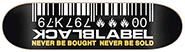 BLACK LABEL TEAM BARCODE YELLOW DECK 8..75 X 32.63