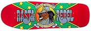 PRIME RANDY COLVIN RASTA REBEL OG COLORWAY DECK 9.87