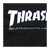 THRASHER SKATEMAG BLACK SS XL