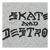 THRASHER SKATE AND DESTROY HEATHER GREY SS S
