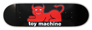 TOY MACHINE TEAM DEVIL CAT LARGE DECK 8.37