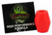 VENOM BUSHINGS SUPER CARVE 90A RED