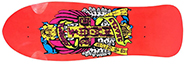 DOGTOWN ERIC DRESSEN RE-ISSUE TRANSPARENT RED DECK 10 X 30.75