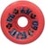 DOGTOWN K-9 RED WHEELS 60MM 95A (Set of 4)