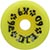 DOGTOWN K-9 YELLOW WHEELS 60MM 92A (Set of 4)