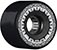 BONES ATF ROUGH RIDERS TANK BLACK WHEELS 56MM 80A (Set of 4)