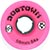 DOGTOWN MINI CRUISER NEON PINK WHEELS 59MM 84A (Set of 4)