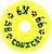 DOGTOWN K-9 CONICAL YELLOW WHEELS 58MM 99A (Set of 4)