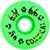 DOGTOWN K-9 CONICAL GREEN WHEELS 56MM 99A (Set of 4)