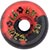 DOGTOWN K-9 80\\'\\'S RED/BLACK SWIRL WHEELS 60MM 97A (Set of 4) (LIMIT 1)