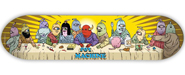 TOY MACHINE TEAM LAST SUPPER DECK 8.00