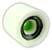 VENOM CANNIBALS WHITE/GREEN HUB 76MM 80A (Set of 4)