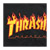 THRASHER FLAME BLACK SS M