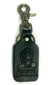 DOGTOWN SUICIDAL LEATHER CLIP ON KEYCHAIN