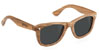 GLASSY MARC JOHNSON WOOD SUNGLASSES