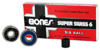 BONES SUPER SWISS BEARINGS 6-BALL SINGLE SET