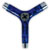 PIG TRI-SOCKET THREADER SKATE TOOL TRANSLUCENT BLUE