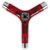 PIG TRI-SOCKET THREADER SKATE TOOL TRANSLUCENT RED