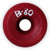 OS POWELL PERALTA B80 55MM 98A RED (Set of 4)