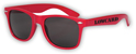 LOWCARD MIDSHELF SUNGLASSES RED