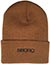 5 BORO MONOGRAM BEANIE BROWN