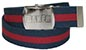 BAKER BRAND LOGO BLUE/RED WEB BELT