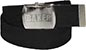 BAKER BRAND LOGO WEB BELT BLACK