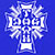 DOGTOWN CROSS LOGO ROYAL BLUE SS L