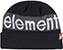 ELEMENT PRIMO BLACK BEANIE