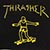 THRASHER GONZ BLACK/YELLOW  SS S
