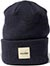 CHOCOLATE WORK NAVY BEANIE