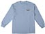 REAL OVAL SMALL POWDER BLUE LS M