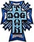 DOGTOWN CROSS LOGO COLOR PATCH