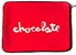 CHOCOLATE CHUNK LAPTOP SLEEVE RED