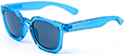 HAPPY HOUR WOLF PUP CRYSTAL BLUE GLOSS SHADES SUNGLASSES