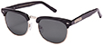 HAPPY HOUR G2 BLACK GLOSS PREMIUM SUNGLASSES