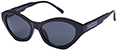 HAPPY HOUR MIND MELTERS GLOSS BLACK SUNGLASSES