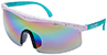 HAPPY HOUR FIRE BIRDS PINK/TEAL RAINBOW SUNGLASSES