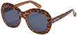 HAPPY HOUR BIKINI BEACH LEOPARD SUNGLASSES