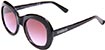 HAPPY HOUR BIKINI BEACH BLACK/PURPLE FADE SUNGLASSES