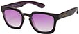 HAPPY HOUR WOLF PUP BLACK/PURPLE SUNGLASSES