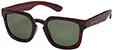 HAPPY HOUR WOLF PUP BURGUNDY/TORTOISE SUNGLASSES