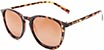 HAPPY HOUR FLAP JACK FROSTED TORTOISE WITH AMBER LENSES SUNGLASSES