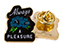 GOOD WORTH & CO ALWAYS A PLEASURE LAPEL PIN